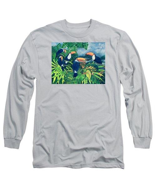 Toucan Talk Long Sleeve T-Shirt