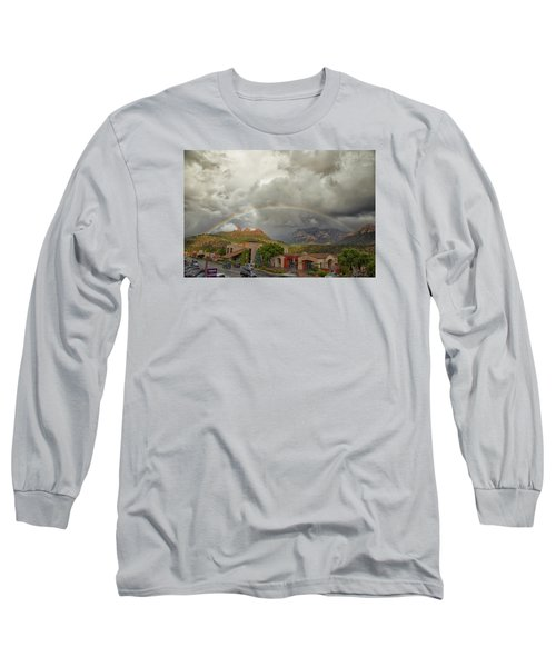 Tour And Explore Long Sleeve T-Shirt by Tom Kelly