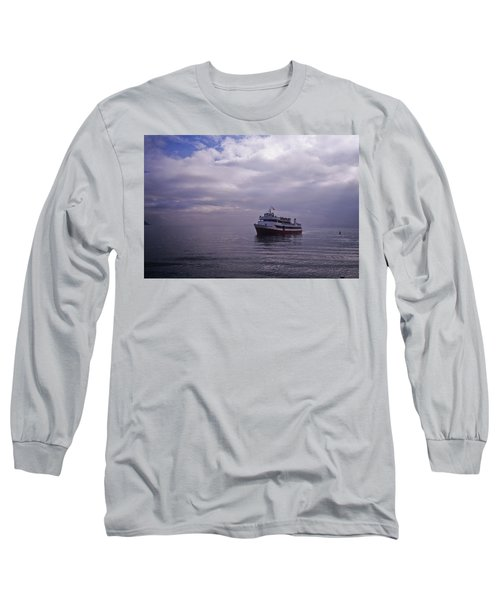 Tour Boat San Francisco Bay Long Sleeve T-Shirt