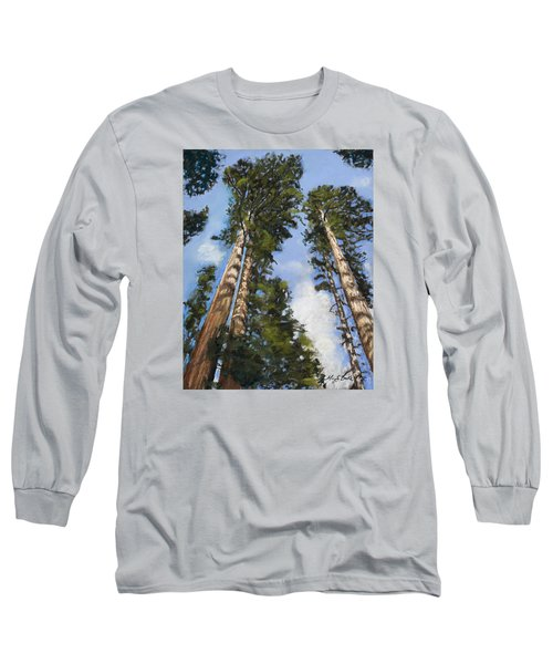 Towering Sequoias Long Sleeve T-Shirt