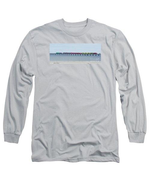 Train Bridge Long Sleeve T-Shirt