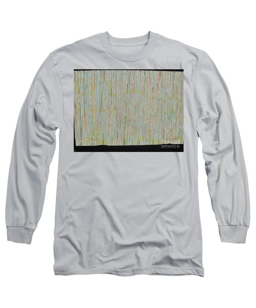 Long Sleeve T-Shirt featuring the painting Tranquility by Jacqueline Athmann