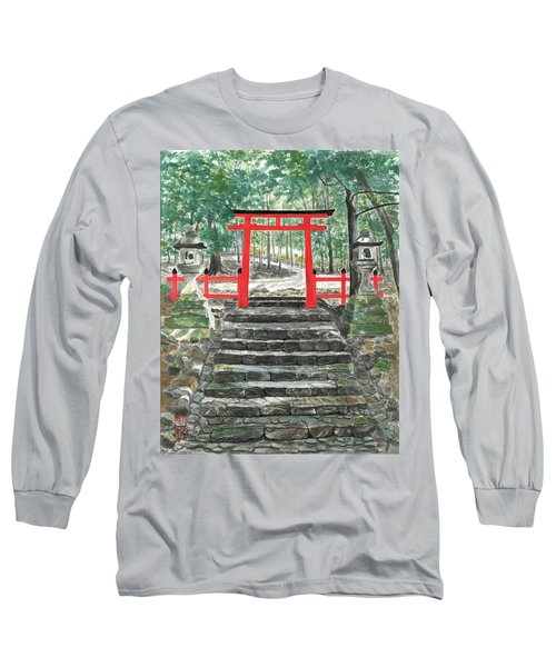 Tranquility Torii Long Sleeve T-Shirt