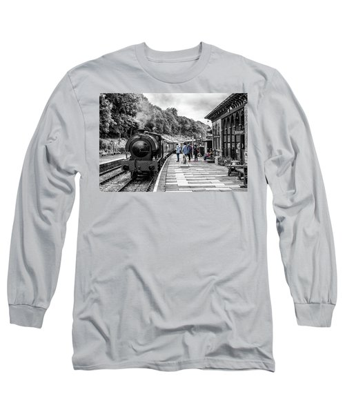 Long Sleeve T-Shirt featuring the photograph Travellers In Time by Nick Bywater