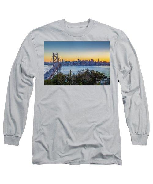 Treasure Island Sunset Long Sleeve T-Shirt by JR Photography