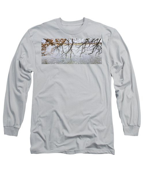 Tree Branches Over Lake Long Sleeve T-Shirt