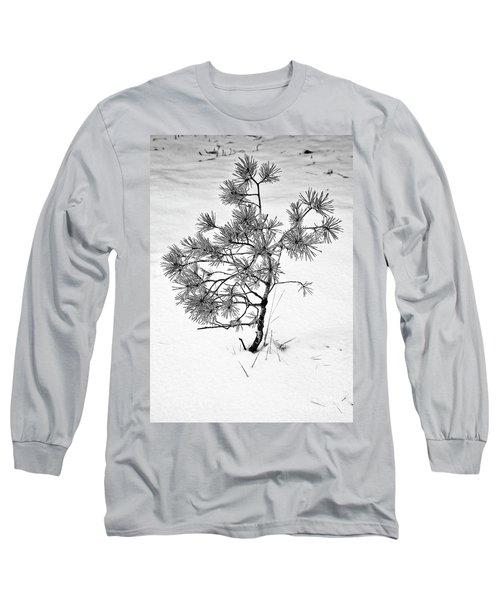 Tree In Winter Long Sleeve T-Shirt