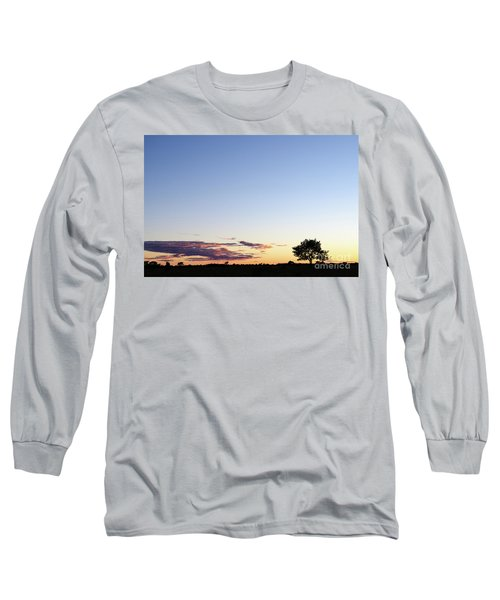 Tree Silhouette By Twilight Long Sleeve T-Shirt