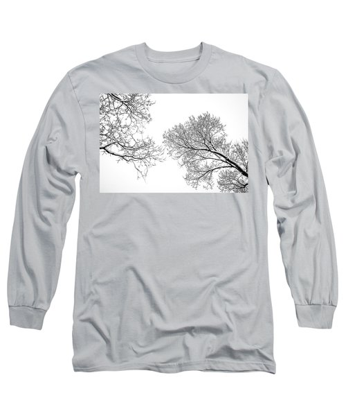Long Sleeve T-Shirt featuring the photograph Trees Reaching by Marilyn Hunt