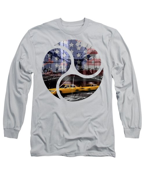 Trendy Design Nyc Composing Long Sleeve T-Shirt by Melanie Viola