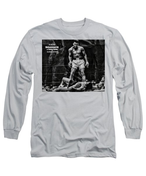 Trinity Boxing Gym Ali Vs Liston  Long Sleeve T-Shirt