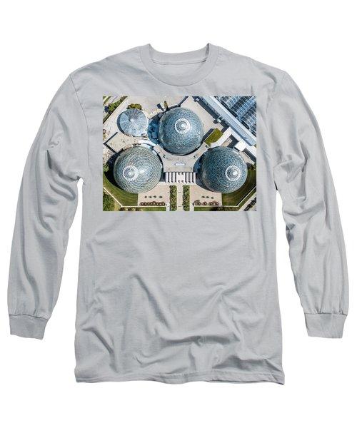 Long Sleeve T-Shirt featuring the photograph Triple D Cups by Randy Scherkenbach