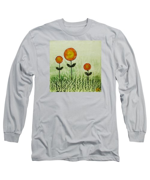 Triplets Long Sleeve T-Shirt by Terry Honstead