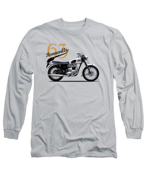 Triumph Bonneville 1963 Long Sleeve T-Shirt