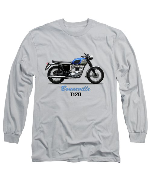 Triumph Bonneville T120 1965 Long Sleeve T-Shirt