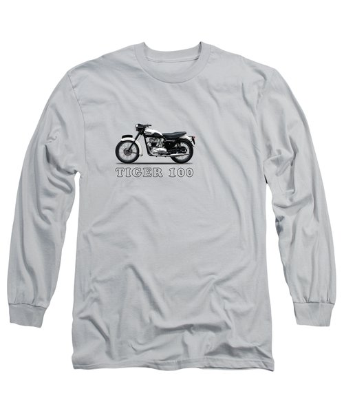 Triumph Tiger 110 1959 Long Sleeve T-Shirt