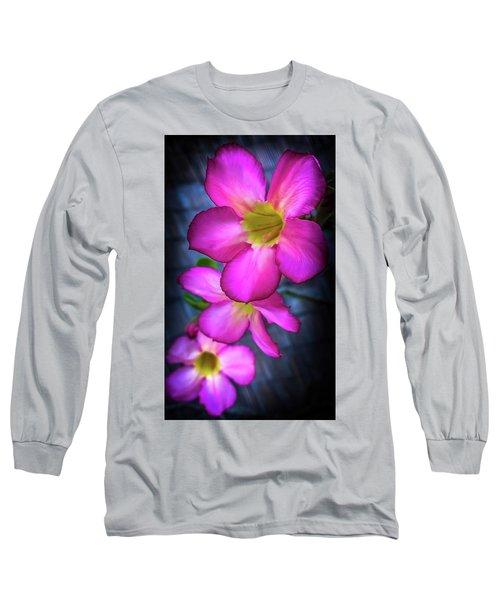 Tropical Bliss Long Sleeve T-Shirt by Karen Wiles