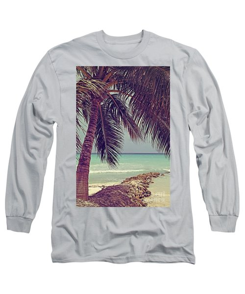 Tropical Ocean View Long Sleeve T-Shirt