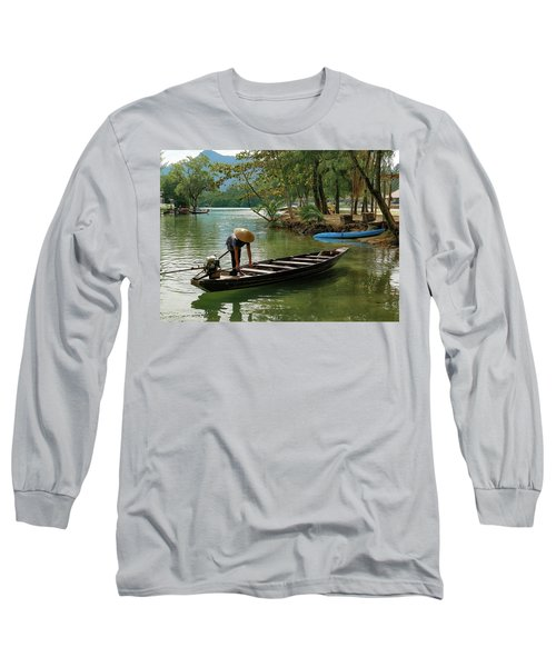 Tropical River  Long Sleeve T-Shirt