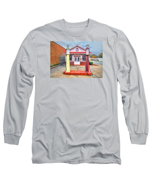 Long Sleeve T-Shirt featuring the photograph Trucking Museum by Marion Johnson