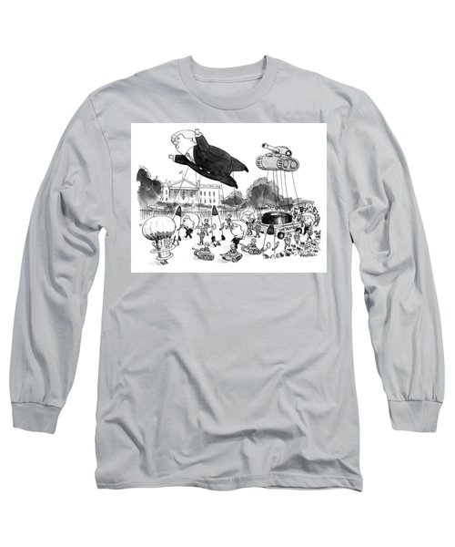 Trump Parade Long Sleeve T-Shirt