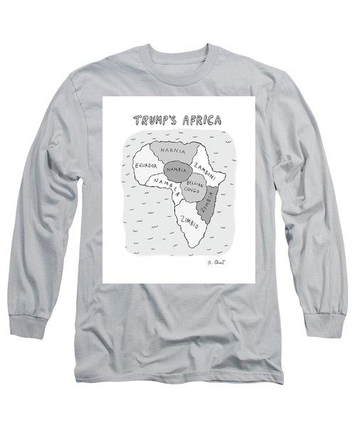 Trumps Africa Long Sleeve T-Shirt