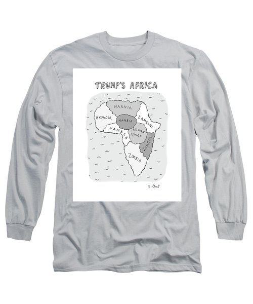 Trumps Africa Long Sleeve T-Shirt