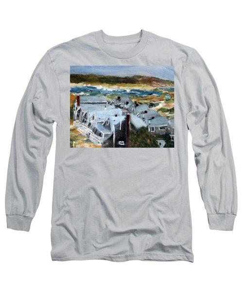 Roseville Beach Colony Long Sleeve T-Shirt
