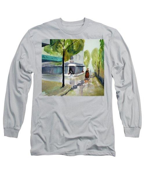 Tudo Street, Saigon11 Long Sleeve T-Shirt by Tom Simmons