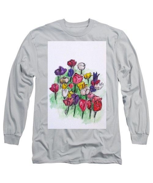Tulip Bed Long Sleeve T-Shirt