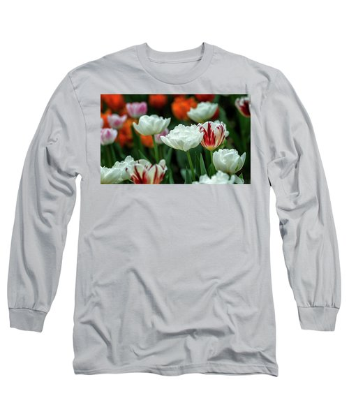 Tulip Flowers Long Sleeve T-Shirt