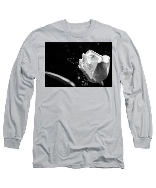 Tulip On A Rainy Day Long Sleeve T-Shirt