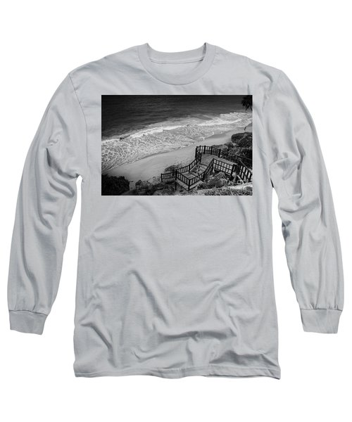 Tulum Beach Long Sleeve T-Shirt by Ana Mireles