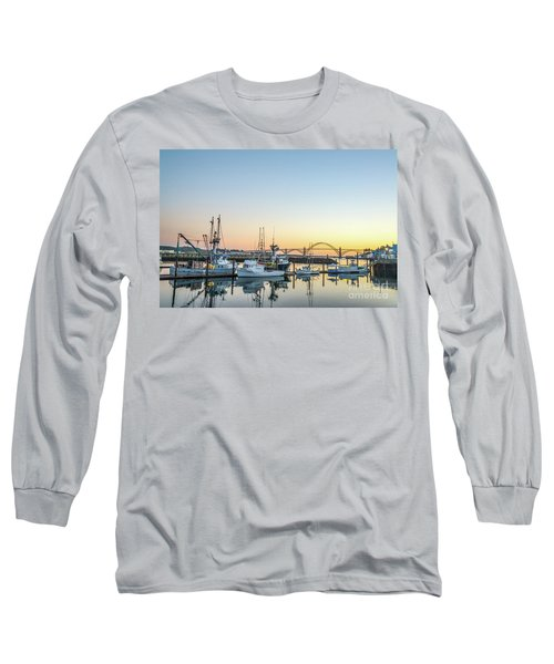 Tuna Boats Resting For The Night Long Sleeve T-Shirt