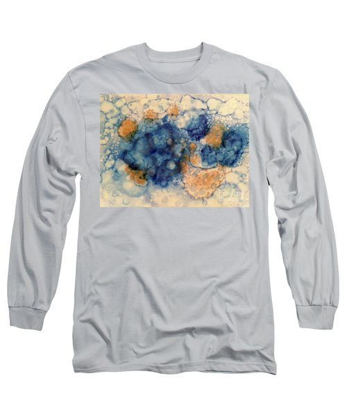 Long Sleeve T-Shirt featuring the painting Tundra by Denise Tomasura