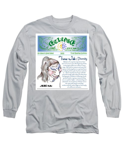 Real Fake News Spiritual Columnist 1 Long Sleeve T-Shirt