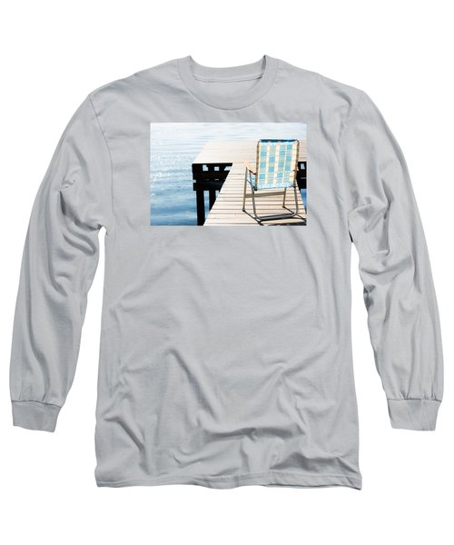 Turquoise Paradise Long Sleeve T-Shirt by Parker Cunningham