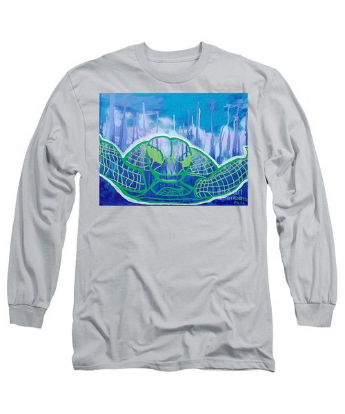Turtle Long Sleeve T-Shirt by Andres Pola