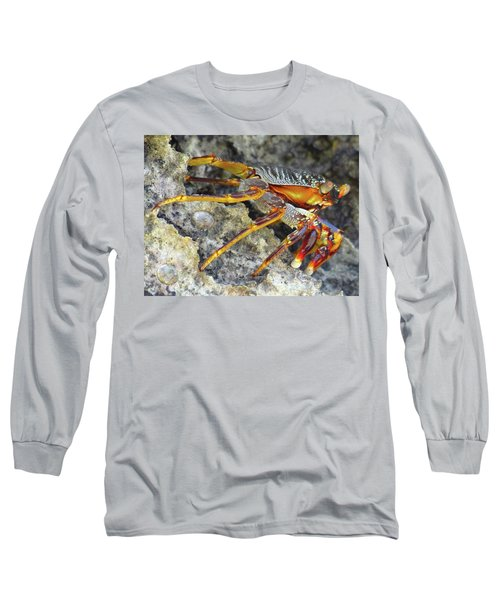 Turtle Bay Resort Watamu Kenya Rock Crab Long Sleeve T-Shirt