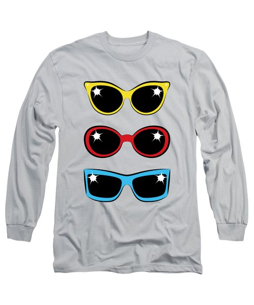 Twentieth Century Sunglasses Long Sleeve T-Shirt by MM Anderson