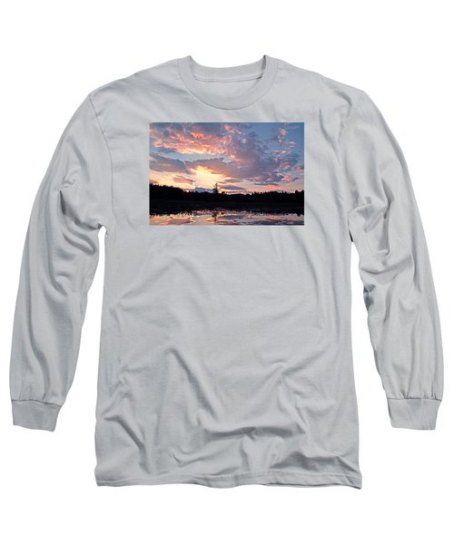 Twilight Glory Long Sleeve T-Shirt by Lynda Lehmann