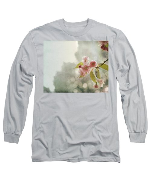 Long Sleeve T-Shirt featuring the photograph Twilight In The Garden by Brooke T Ryan