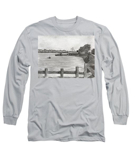Twilight On Tomales Bay Long Sleeve T-Shirt