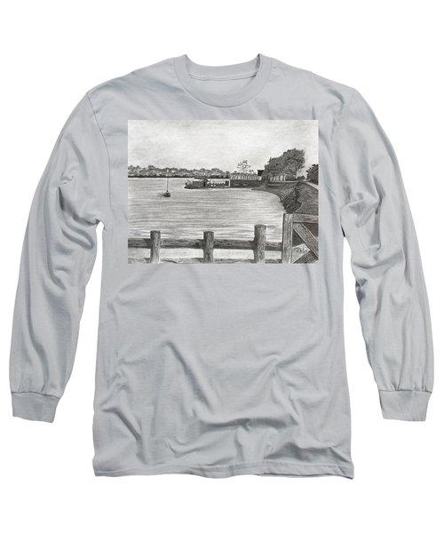 Twilight On Tomales Bay Long Sleeve T-Shirt