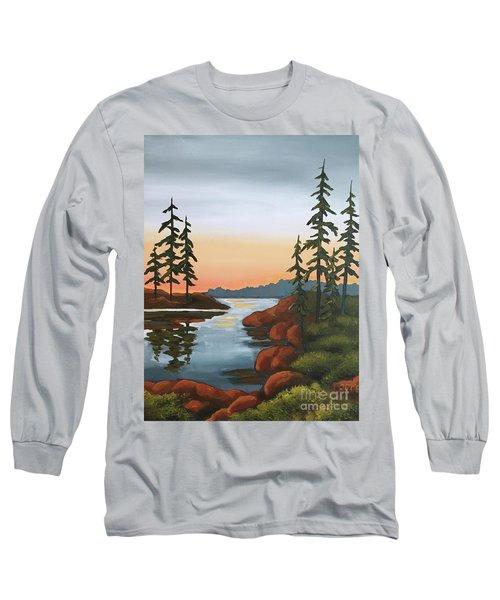 Twilight Sunset Long Sleeve T-Shirt