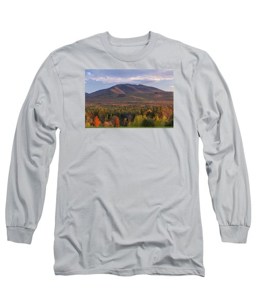 Twin Mountain Autumn Sunset Long Sleeve T-Shirt