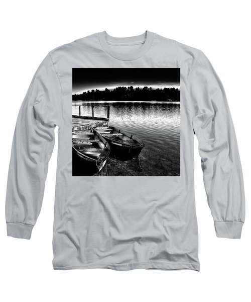 Long Sleeve T-Shirt featuring the photograph Two Boats by David Patterson