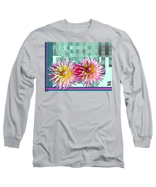 Two Dahlias Long Sleeve T-Shirt