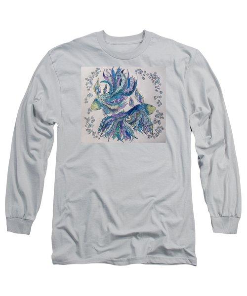 Two Fish Tangled 2 Long Sleeve T-Shirt