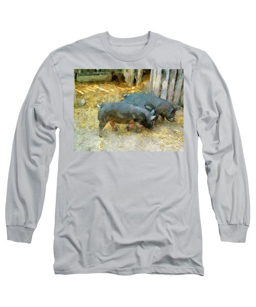 Two Little Pigs Long Sleeve T-Shirt
